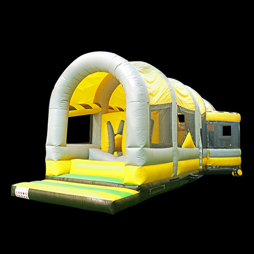 Kids Crazy 5k Inflatable Obstacle CourseYGO Toxic