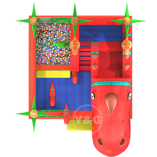 Inflatable Bounce House With Slide01