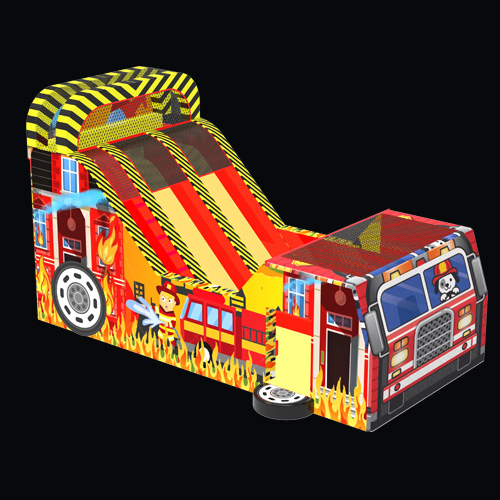 Fire Engine Bow Up Slip And Slide