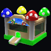 Mushrooms Water Bounce House