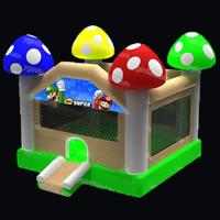 Mushrooms Water Bounce House