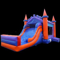 Inflatable Combo bounce castle