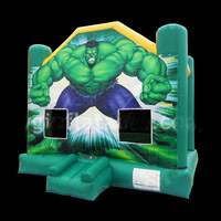 Green Man Inflatable Bouncer