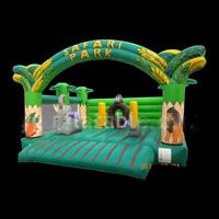 Banana Combo Bounce House