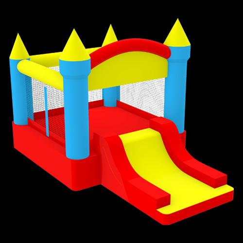 Pentagon-shaped-Castle-Bouncer