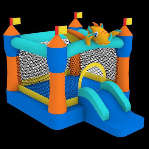 Dragon-Castle-Bouncer-with-Slide