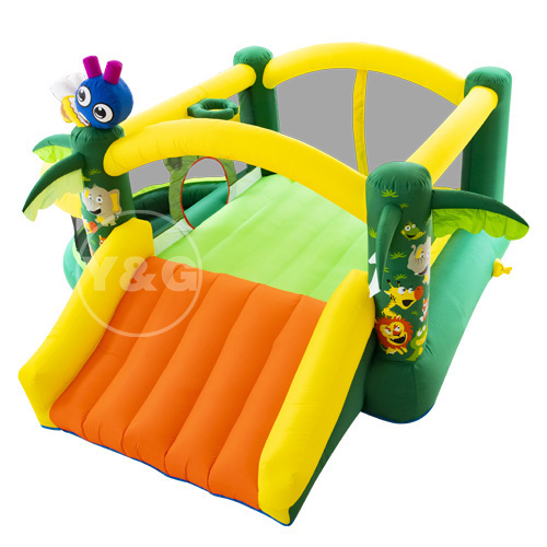 Inflatable jungle ball pool castle