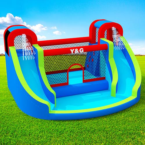 Twin peaks bouncer combo splash slide