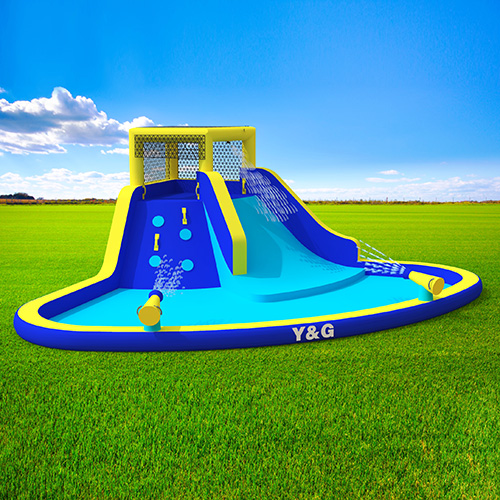 Waterpark with slide pool for sale