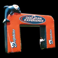 dolphin fun inflatable archGA002