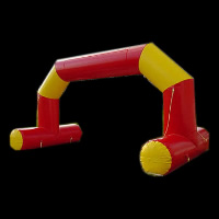 contrast color inflatable archGA041