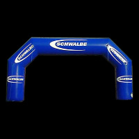 Navy blue inflatable archGA043