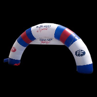 Fleet Feet inflatable archGA055