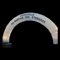 Bienvenue inflatable archGA067