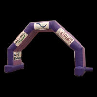 purple series inflatable archesGA083