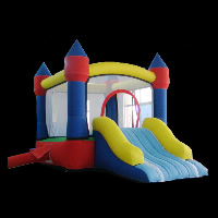 inflatable bounce and slideGB032