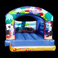 bounce house with blower included