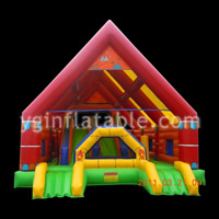 inflatable bounce house with slideGB109