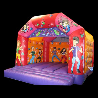 colorful bounce houseGB250