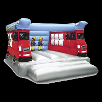 bus Indoor Bounce House