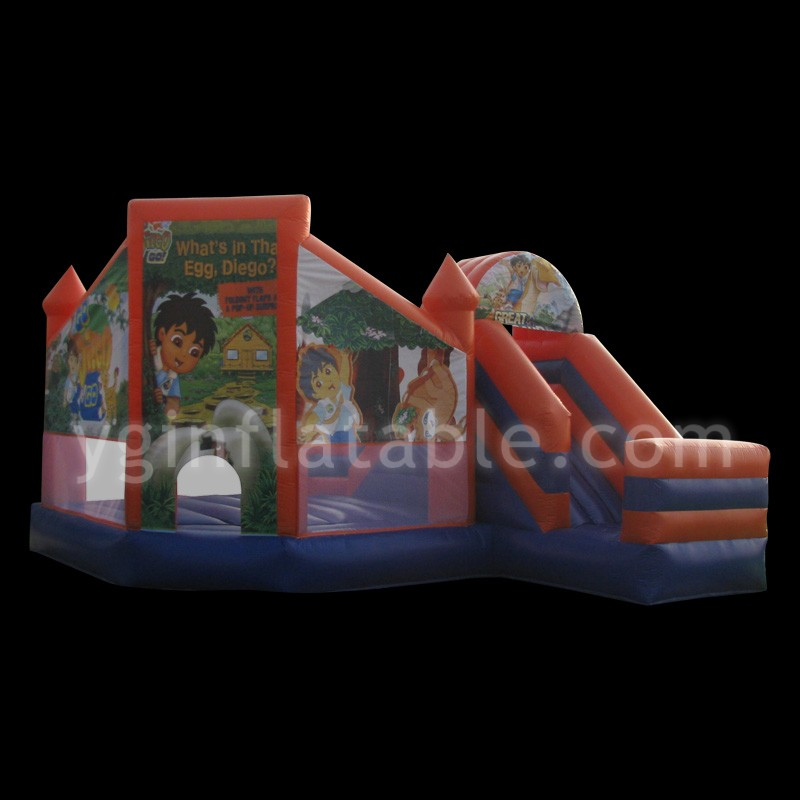 pirate ship inflatable bouncerGB397