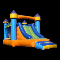 used inflatable bouncersGB414