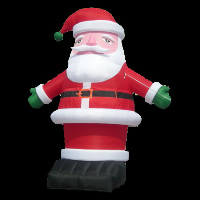 wholesale inflatable Santa Claus