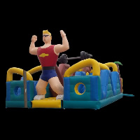 tyre inflatable obstacleGE004