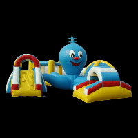 funland inflatable obstaclesGE006