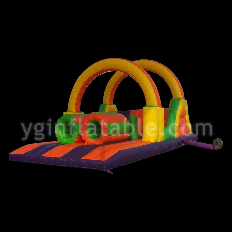 super heroes inflatable obstacleGE007