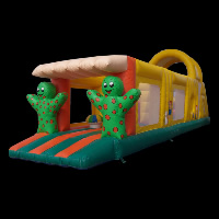 bungee run Obstacle Bouncy Castle