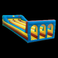 yellow and blue inflatable obstaclesGE021