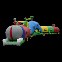inflatable football tunnelsGE029