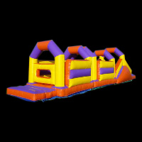 bush and hill inflatable obstaclesGE039
