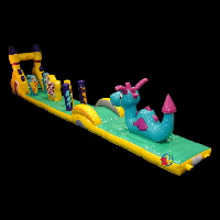 wild animal inflatable obstaclesGE040
