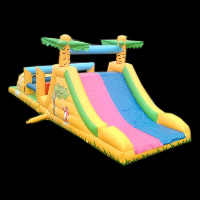 brilliant color Inflatable Obstacle Course