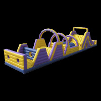 assault course inflatable obstacle
