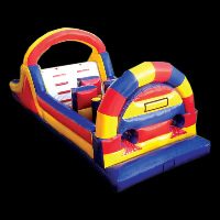 mega inflatable obstacleGE056