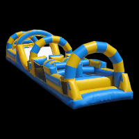contrast color inflatable obstacleGE059