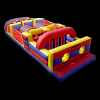 gauze element inflatable obstacleGE060