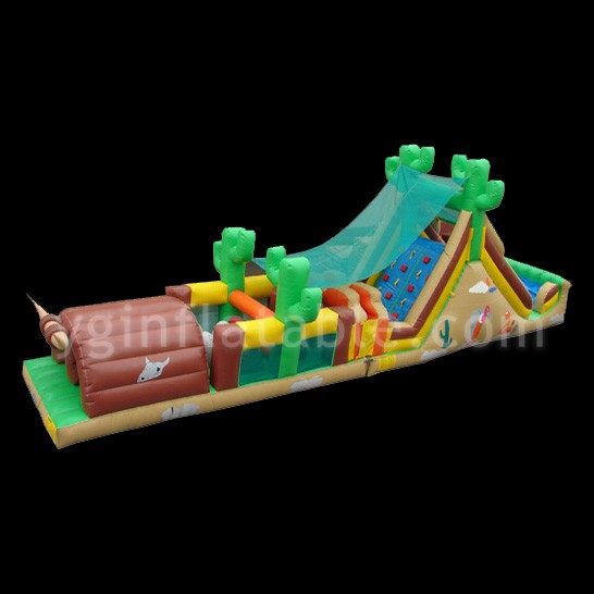 under water inflatable obstacleGE070