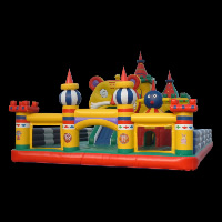 happy forest inflatable funlandGF002