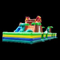 playful ground inflatable funlandGF024