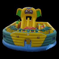colourful inflatable castles funlandGF077
