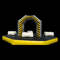 new design Inflatable SportGH007