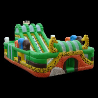 inflatable outdoor obstacle courseGI058
