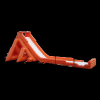 large dry inflatable slideGI059