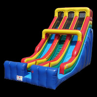 Giant Double Tube inflatable SlideGI0163