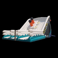 commercial inflatable water slidesGI119