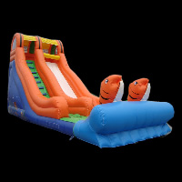 little tikes inflatable water slide